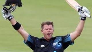 Corey Anderson 100 from 36 Balls Fastest Hundred in Cricket History *Ball by Ball*