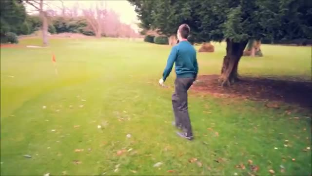 Flop Shot Chipping Challenge
