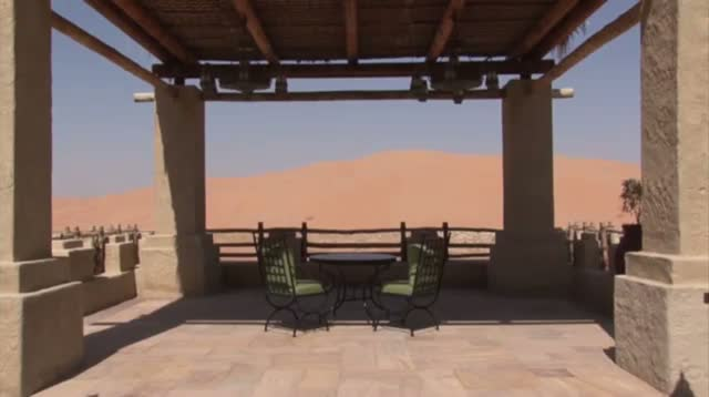 Luxury Resort Hidden Among Desert Sand Dunes