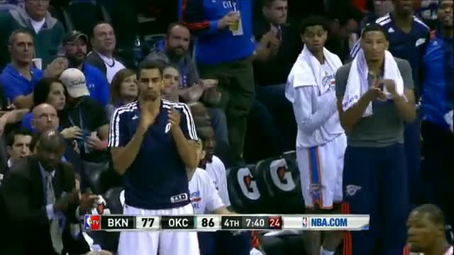 NBA: Reggie Jackson Seeks and Destroys the Rim