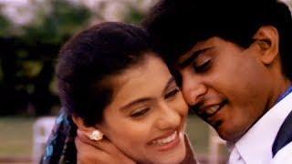 Mere Chehre Pe Likha Hai - Superhit Hindi Romantic Song - Kajol, Vikas Bhalla - Taaqat