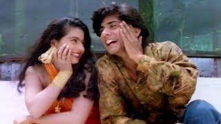 Hun Huna Re Hun Huna - Superhit 90s Romantic Hindi Song - Kajol, Vikas Bhalla - Taaqat
