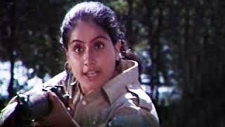 Yeh Ghadi Hai Imtihan Ki (Title Song) - Tejasvini - Vijayashanti, Deepak Malhotra, Amrish Puri