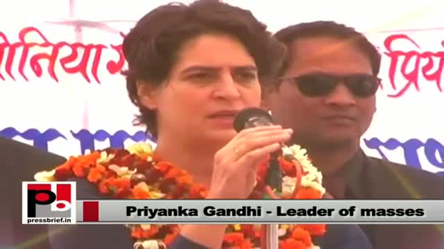 Priyanka Gandhi Vadra: Democracy has given you the power to bring the change