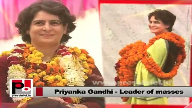 Priyanka Gandhi Vadra: Samajwadi Party always misguided the people