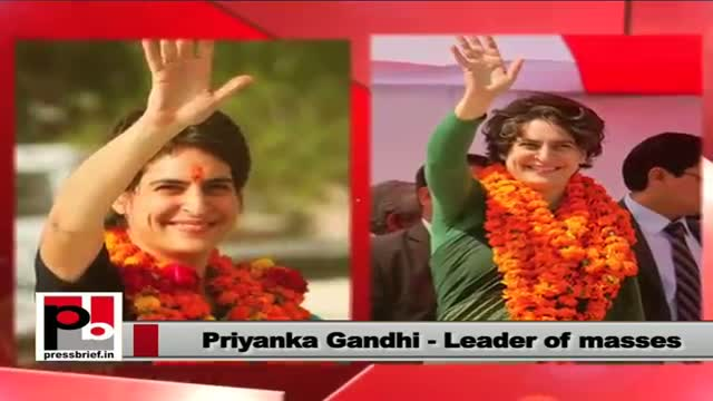 Priyanka Gandhi Vadra: Central have made policies to empower you