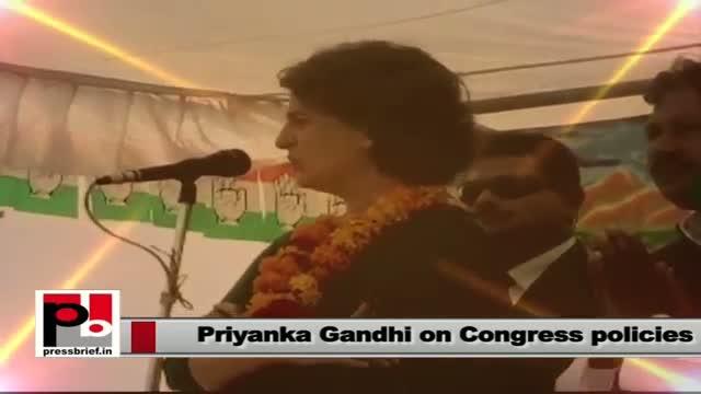 Priyanka Gandhi Vadra: We want empowerment of common man