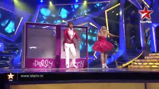 Nach Baliye 6 - 5th January 2014 - Ripu and Shivangi perform as dolls