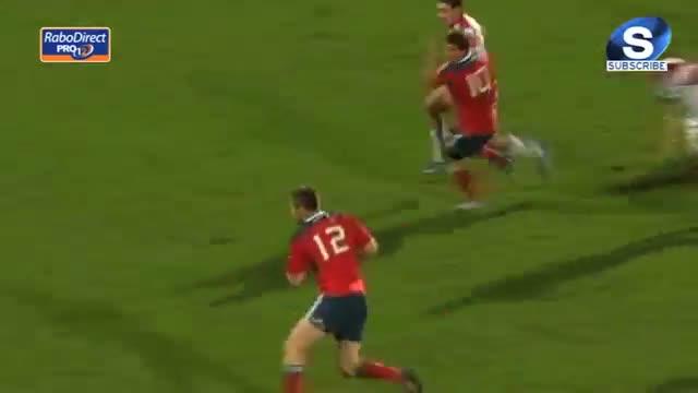 Ulster v Munster Full Match Report 03 Jan 2014
