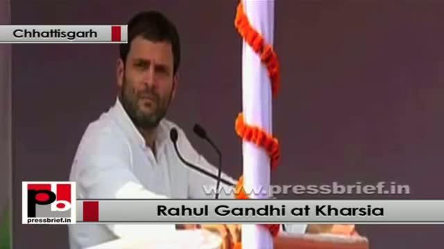 Rahul Gandhi: Nandu Kumar Patel wanted to empower every tribal and poor
