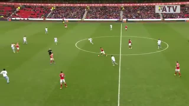 Nottingham Forest vs West Ham United 5-0, FA Cup Third Round Proper 2013-14 highlights