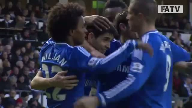 Derby County vs Chelsea 0-2, FA Cup Third Round Proper 2013-14 highlights