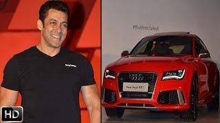 Salman Khan The First Owner Of AUDI RS7 Sportscar