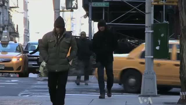 Polar Vortex Hits Northeast US