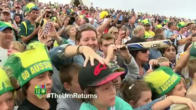 Fans thanked at Ashes celebration