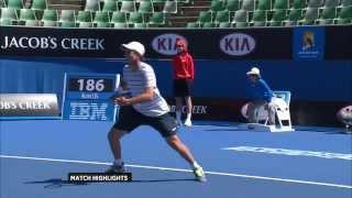 Millot v Mousley - 2014 Australian Open Qualifying Day One