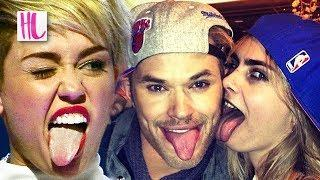 Miley Cyrus Mocked By Kellan Lutz & Cara Delevingne