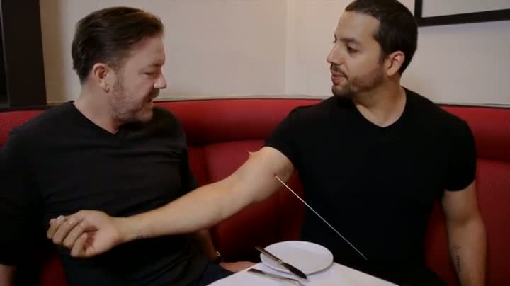 David Blaine and Ricky Gervais - Real or Magic?