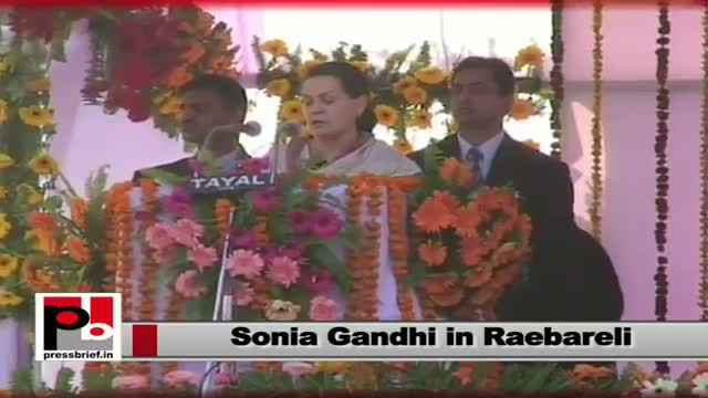 Sonia Gandhi: Common man has availed many benefits from out polices