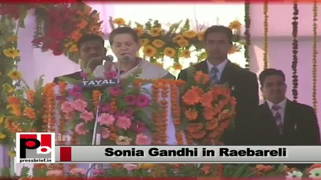 Sonia Gandhi: Indira ji and Rajiv ji didn't have fear for their lives