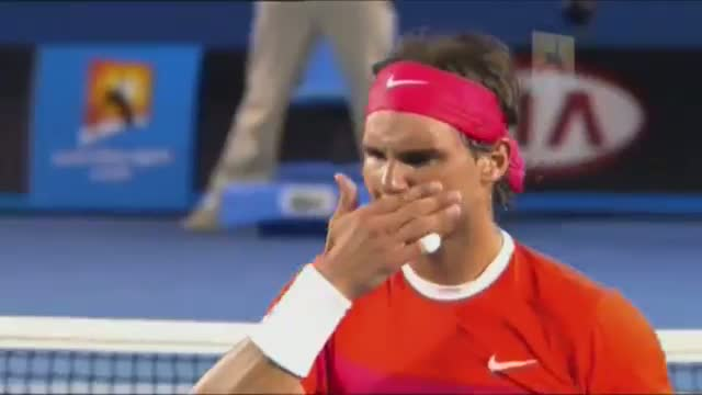 Welcome Back Rafa Nadal - Australian Open 2014