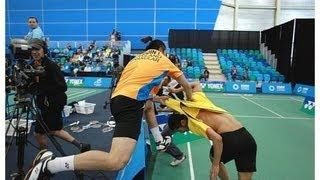 Biggests Fight in Sports History - Bloody Fight between Two Badminton Players Beat Each to Death