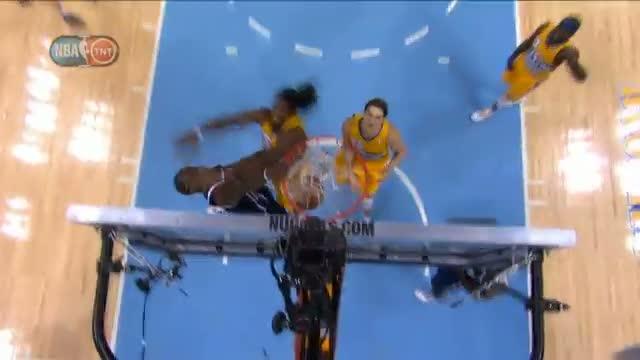 NBA: Reggie Jackson Dunks on Kenneth Faried!