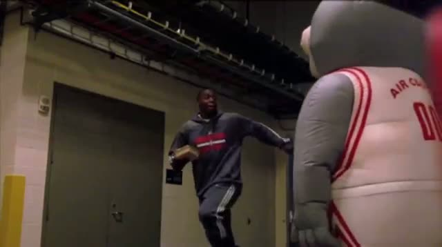 Rockets Players Pranked After Practice