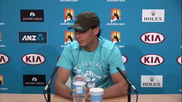 Rafa Nadal press conference - 2014 Australian Open
