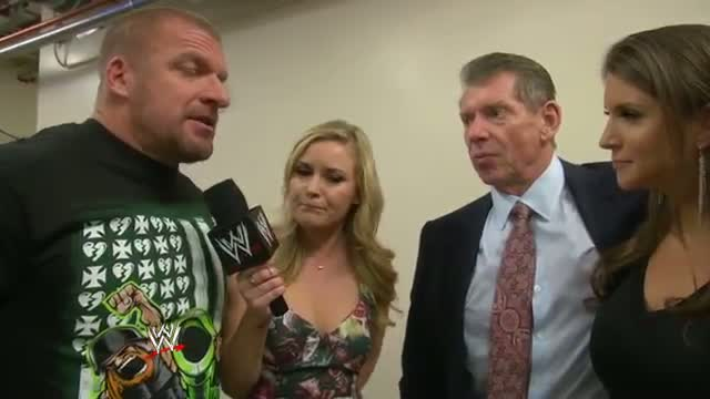 What WWE Network show is the McMahon family most excited to see?