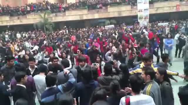 Yaariyan Cast at Amity University after Movie Release