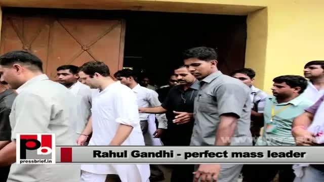 Rahul Gandhi: Young leader for the masses