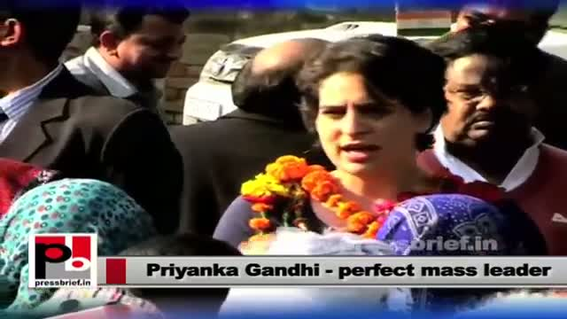 Priyanka Gandhi Vadra : A young and enthusiastic leader of the India