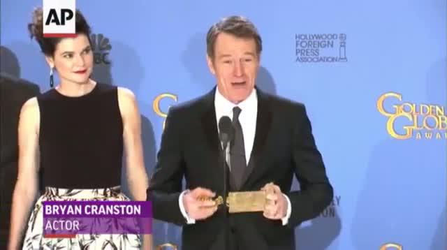 Golden Globe Winners React Backstage