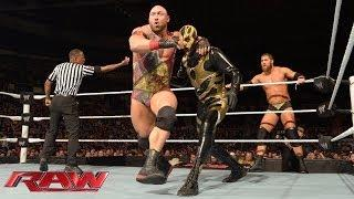Cody Rhodes & Goldust vs. Ryback & Curtis Axel: WWE Raw, Jan. 13, 2014