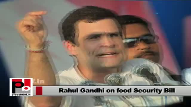 Rahul Gandhi: BJP tried to stop food security bill for years