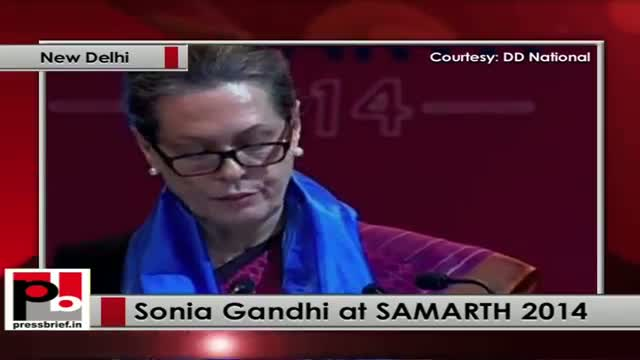 Sonia Gandhi: Social model has taken the place of medical model
