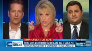 "Nancy Grace: ""People on pot shoot, stab and strangle each other"""