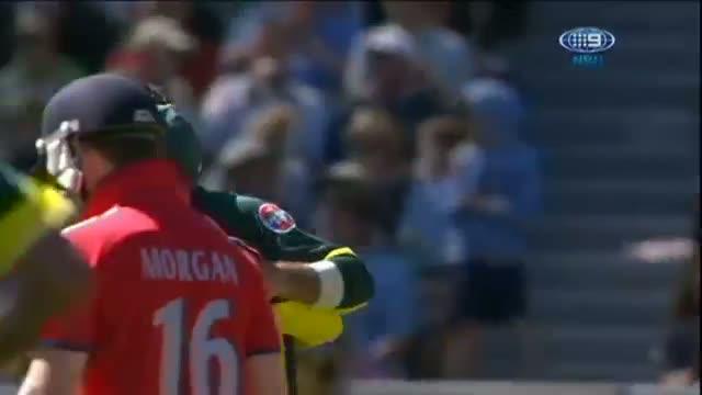 Aus v Eng 2014 ODI - Game 1 MCG - Australia's Wickets Taken v England - 12 January 2014