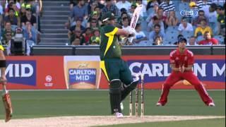 Aaron Finch Innings of 121 Runs Highlights - Aus vs Eng ODI 2014 - Game 1 MCG