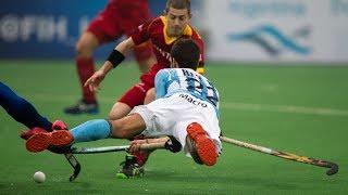 Belgium vs Argentina - Men's Hero Hockey World League Final India 5th/8th Place [17/1/2014]