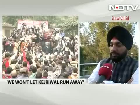 Won't allow Arvind Kejriwal to run away, Congress' Arvinder Singh Lovely tells NDTV