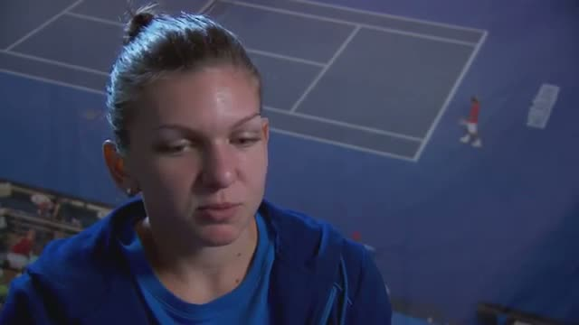 Simona Halep interview (third round) - 2014 Australian Open