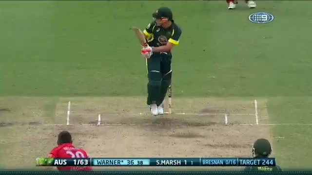 David Warner Highlights of 71 Runs Of 70 Balls - Aus v Eng 2014 - Game 3 SCG - 19 January 2014