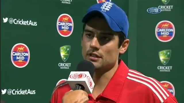 Post Game Captain Interviews & Man Of The Match - Aus v Eng 2014 - Game 3 SCG - 19 January 2014