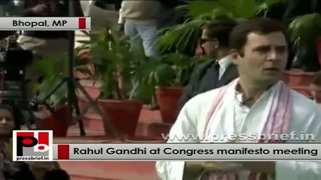 Rahul Gandhi interacts with women representatives on Congress Manifesto part 02