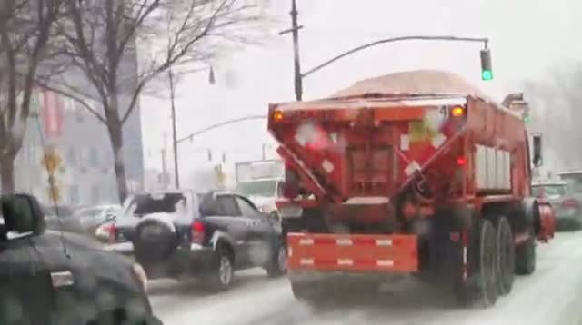 New Yorkers Dealing With Second Major Snowstorm