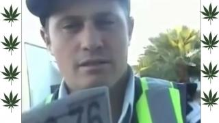 Is This Australian Policeman Stoned?