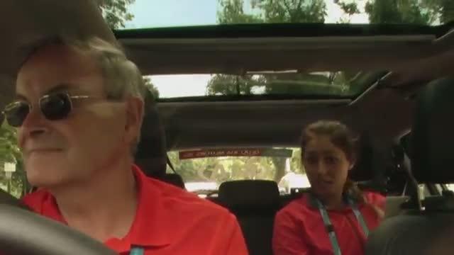 Sarah Tomic: Kia Open Drive - 2014 Australian Open