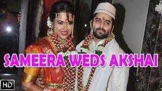 Sameera Reddy's MARRIAGE To Akshai Varde